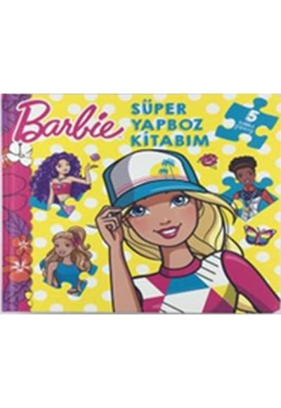 Barbie Süper Yapboz Kitabım