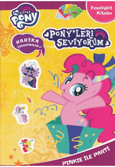 My Little Pony Pony'leri Seviyorum Pinkie ile Party