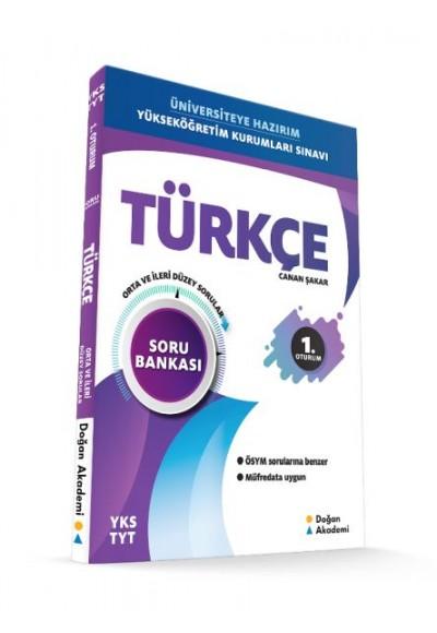 Doğan Akademi YKS TYT Türkçe Soru Bankası Orta İleri Düzey Yeni