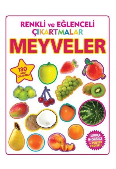 Renkli ve Eğlenceli Çıkartmalar Meyveler