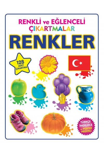 Renkli ve Eğlenceli Çıkartmalar Renkler
