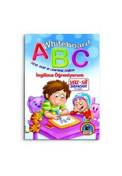 Whiteboard ABC First Step in Learning English / Yaz-Sil Bitmeyen Yazı Defteri