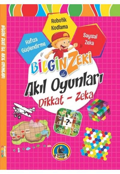 Bilgin Zeki ile Akıl Oyunları Dikkat Zeka Pembe Seri