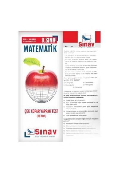 Sınav 9. Sınıf Matematik Çek Kopar Yaprak Test