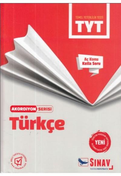Sınav TYT Türkçe Akordiyon Serisi Yeni