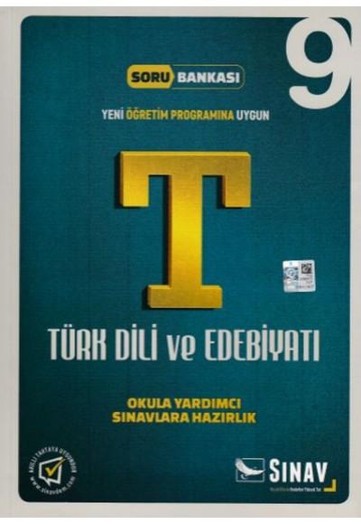 Sınav 9. Sınıf Türk Dili ve Edebiyatı Soru Bankası Yeni