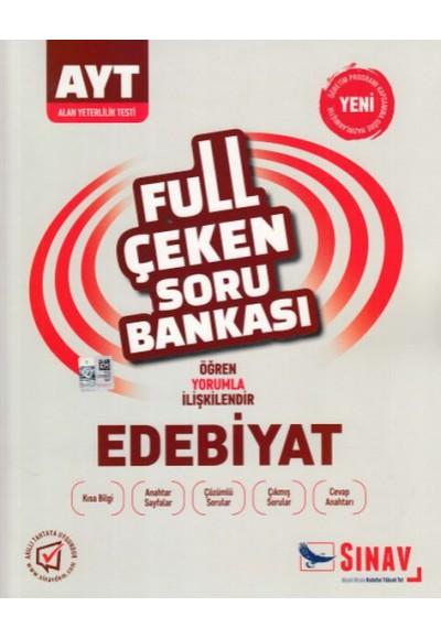 Sınav AYT Edebiyat Full Çeken Soru Bankası Yeni