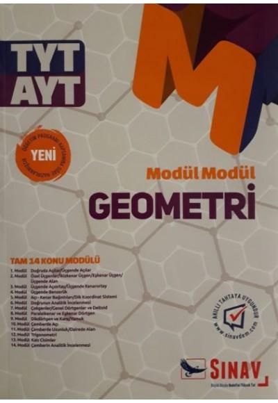 Sınav TYT AYT Modül Modül Geometri Konu Anlatımlı Yeni