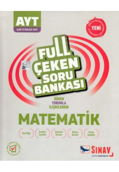 Sınav AYT Matematik Full Çeken Soru Bankası Yeni