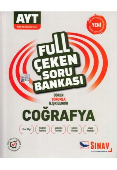 Sınav AYT Coğrafya Full Çeken Soru Bankası Yeni
