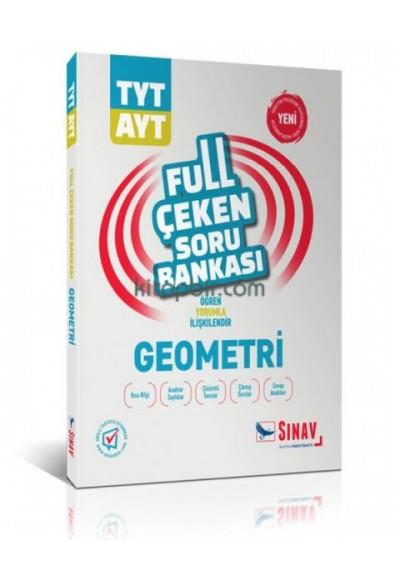 Sınav TYT AYT Geometri Full Çeken Soru Bankası Yeni