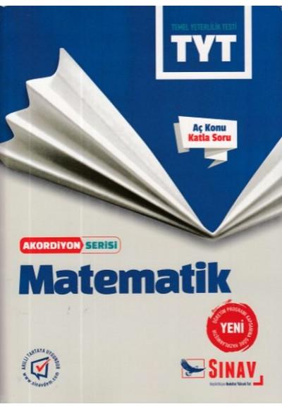 Sınav TYT Matematik Akordiyon Serisi Yeni