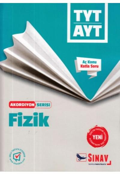 Sınav TYT AYT Fizik Akordiyon Serisi Yeni