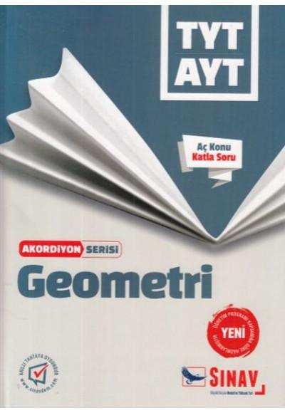 Sınav TYT AYT Geometri Akordiyon Serisi Yeni