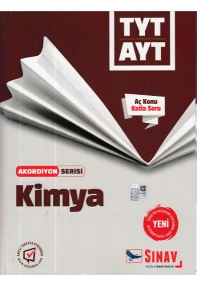 Sınav TYT AYT Kimya Akordiyon Serisi Yeni