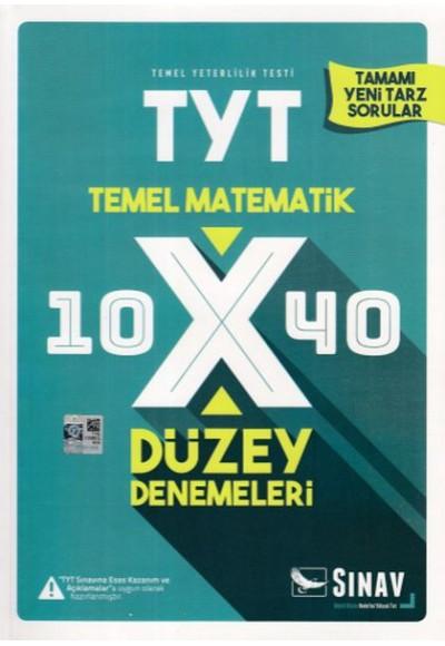 Sınav TYT Temal Matematik 10x40 Düzey Denemeleri Yeni
