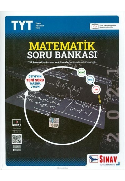 Sınav TYT Matematik Soru Bankası 2021 Yeni