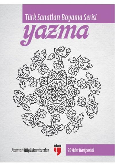 Yazma Türk Sanatları Boyama Serisi 20 Adet Kartpostal