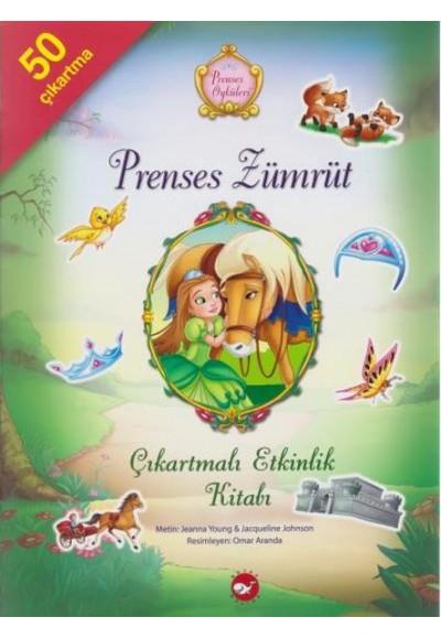 Prenses Zümrüt Çıkartmalı Etkinlik Kitabı Prenses Öyküleri