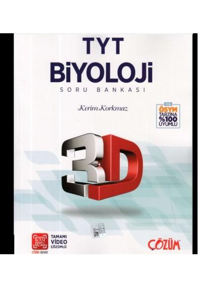 3D TYT Biyoloji Tamamı Video Çözümlü Soru Bankası Yeni