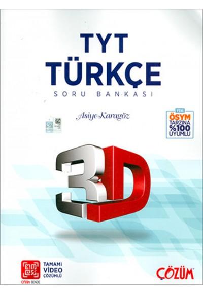 3D TYT Türkçe Tamamı Video Çözümlü Soru Bankası Yeni