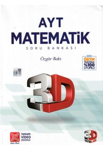 3D AYT Matematik Tamamı Video Çözümlü Soru Bankası Yeni