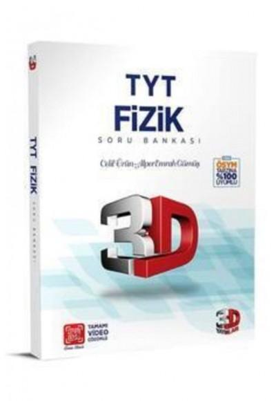 3D TYT Fizik Tamamı Video Çözümlü Soru Bankası Yeni