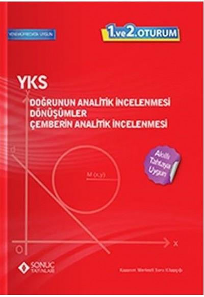 Sonuç YKS TYT 1. ve 2. Oturum Doğrunun Analitik İncelenmesi Dönüşümler Çemberin Analitik İncelenmesi