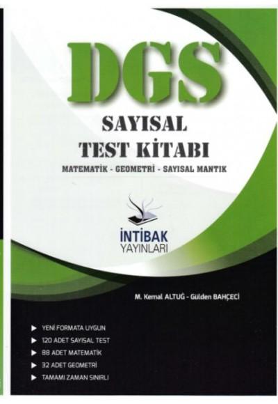 İntibak DGS Sayısal Test Kitabı