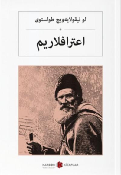 İtiraflarım Osmanlıca