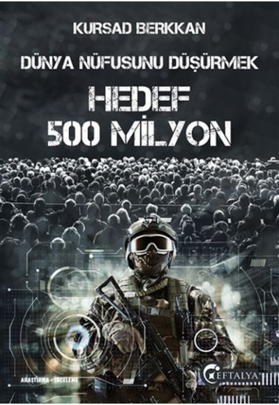 Dünya Nüfusunu Düşürmek Hedef 500 Milyon