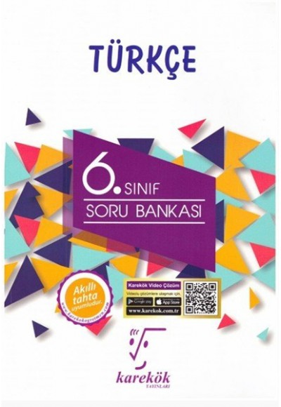 Karekök 6. Sınıf Türkçe Soru Bankası Yeni