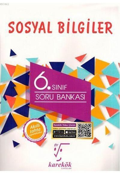 Karekök 6.Sınıf Sosyal Bilgiler Soru Bankası Yeni