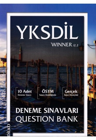 Dilko YKSDİL Winner 12.2 Deneme Sınavları Question Bank