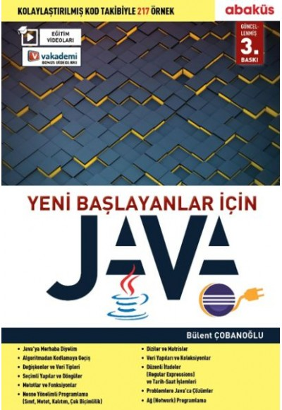 Yeni Başlayanlar İçin Java - Eğitim Videolu