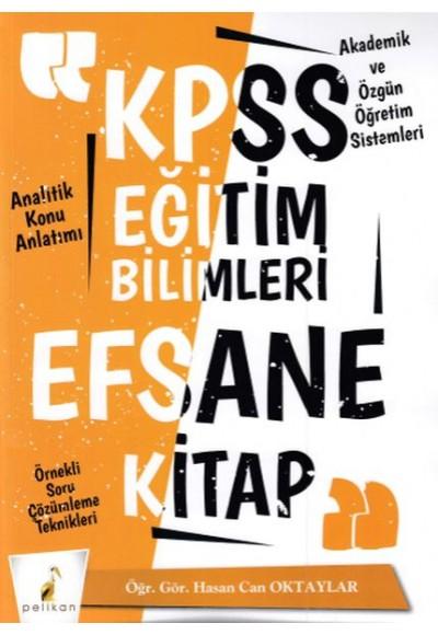 Pelikan KPSS Eğitim Bilimleri Efsane Tek Kitap Konu Anlatımlı (Yeni)