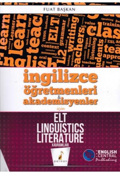 Pelikan İngilizce Öğretmenleri Akademisyenler için ELT Linguistics Literature Kavramları Yeni