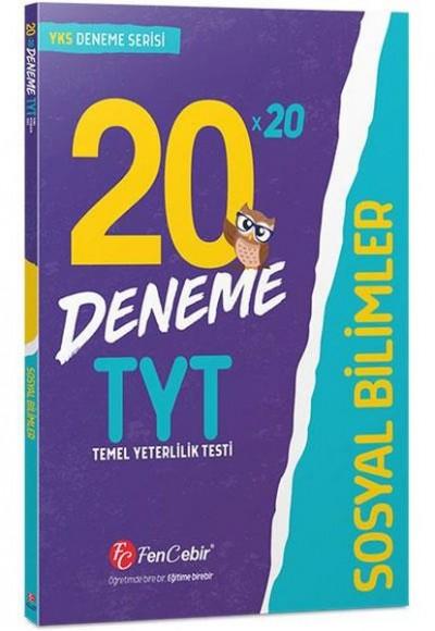 FenCebir YKS TYT Sosyal Bilimler 20x20 Deneme Yeni
