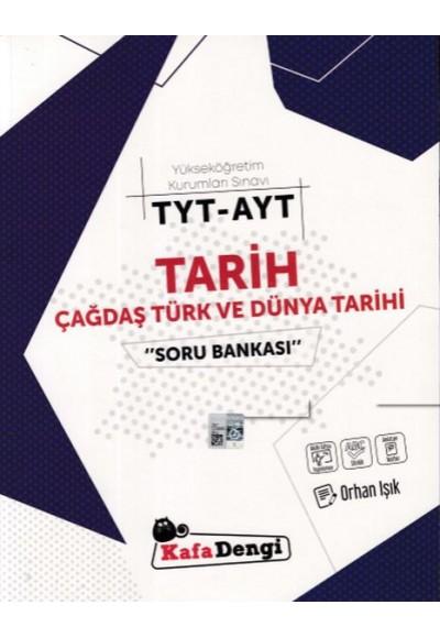 Kafa Dengi TYT-AYT Tarih Çağdaş Türk ve Dünya Tarihi  Soru Bankası (Yeni)