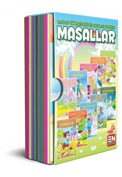 Çocuklara Ünlü Masallar Set 20 Kitap