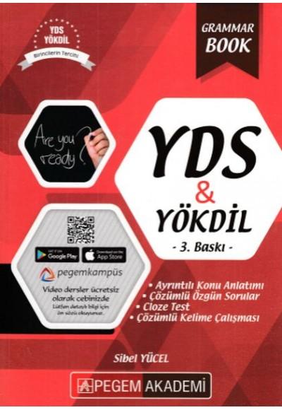 Pegem Akademi YDS YÖKDİL Grammar Book Yeni