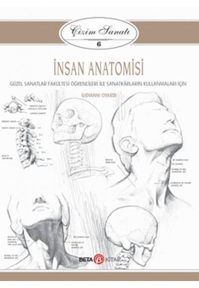 Çizim Sanatı Serisi 6 İnsan Anatomisi