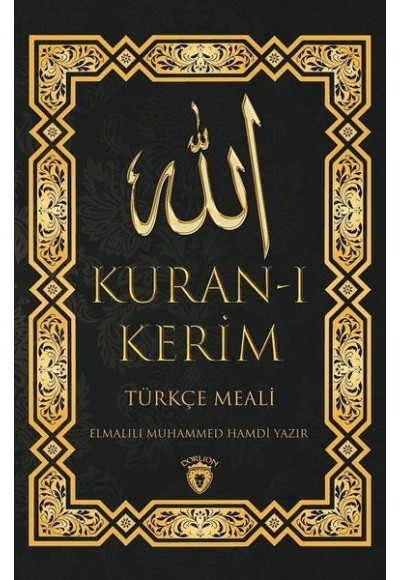 Kur'an ı Kerim Türkçe Meali