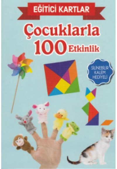 Eğitici Kartlar Çocuklarla 100 Etkinlik