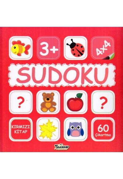 Sudoku 4X4 Kırmızı Kitap