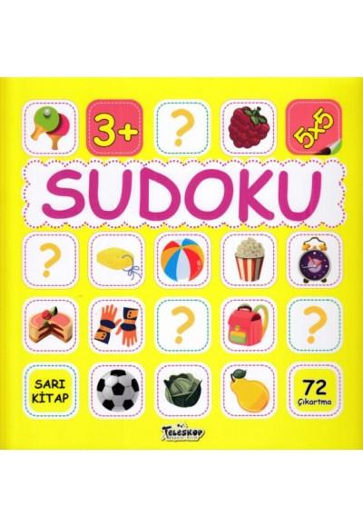 Sudoku 5x5 Sarı Kitap