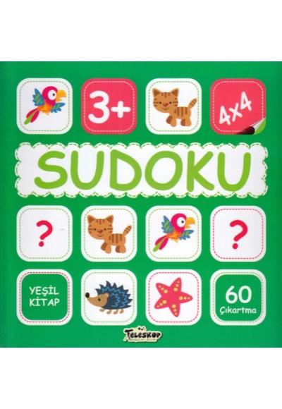 Sudoku 4X4 Yeşil Kitap