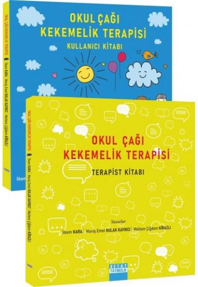 Okul Çağı Kekemelik Terapisi (Kullanıcı Kitabı / Terapist Kitabı) - Tek Kitap