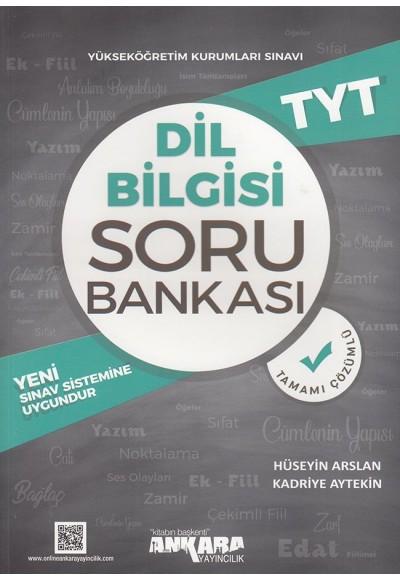 Ankara TYT Dil Bilgisi Soru Bankası
