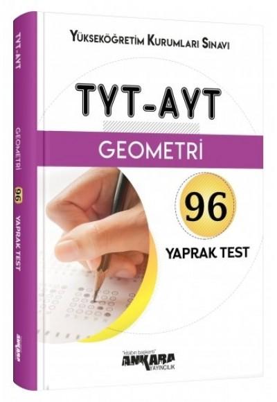 Ankara TYT AYT Geometri 96 Yaprak Test Yeni